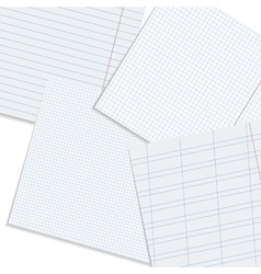 paper workspace vector image