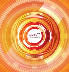 digital abstract background vector image vector image