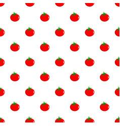 Tomato pattern seamless vector