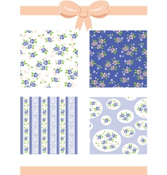 Roses Patterns vector image