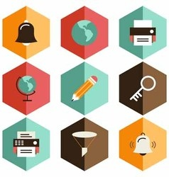Icon tool school vector