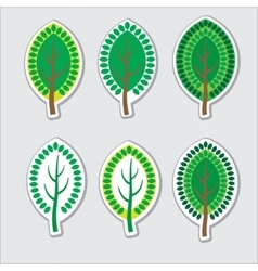 Tree decorative vector