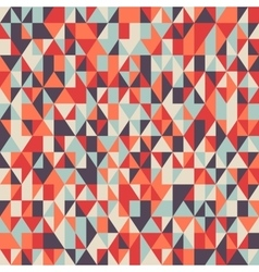 Colorful mosaic poly pattern vector image