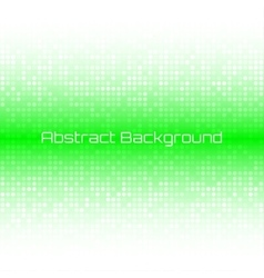 Bright Light Green Technology Business Background vector image