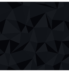 dark triangle pattern vector image vector image