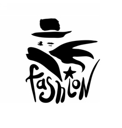 Fashion logo design vector image