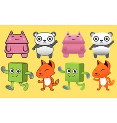 Gang Animal Monster vector image vector image