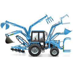 Multi tractor vector