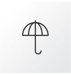 Parasol icon symbol premium quality isolated vector