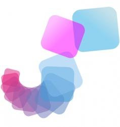 cascade abstract vector image