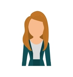 Business executive woman vector