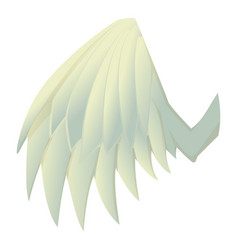 Beautiful wing icon cartoon style vector