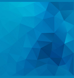 Blue shiny triangle background design vector