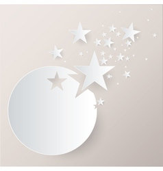 Paper Stars vector image vector image