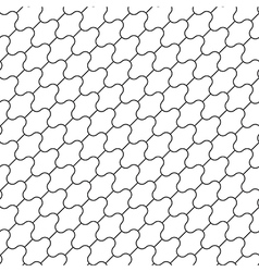 Simple seamless diagonal pattern vector image vector image