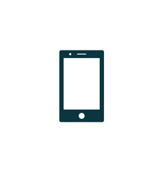 smartphone icon simple vector image