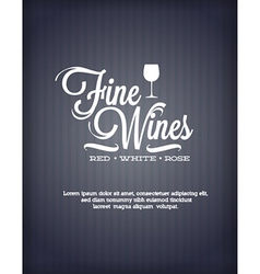 Wine abstract background vector