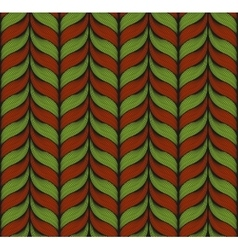 Seamless background with christmas colors vector image