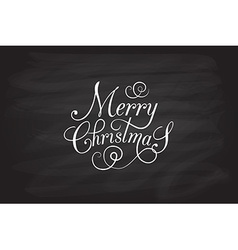 Hand sketched merry christmas logotype badge and vector