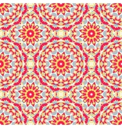 Boho chic colorful pattern vector