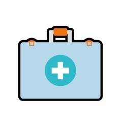 Medical kit icon medical and health care design vector