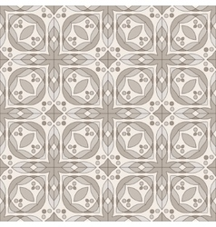 Brown ceramic tile vector image