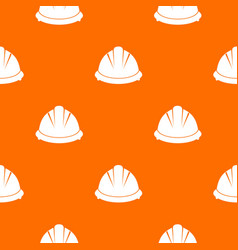 construction helmet pattern seamless vector image