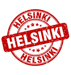 helsinki stamp vector image vector image
