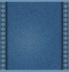 Blue denim texture vector