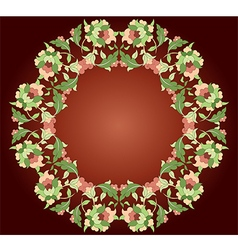 sixteen series designed from the ottoman pattern vector image