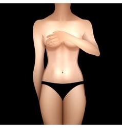 European women body vector image vector image