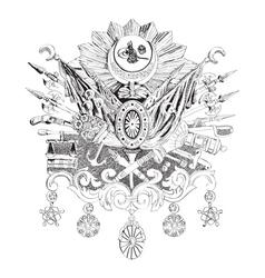 Ottoman empire vector