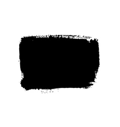 Grunge background rectangle black vector