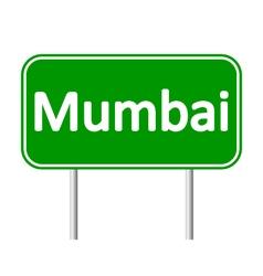 Mumbai road sign vector