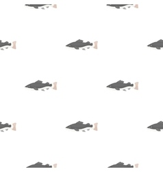 Phractocephalus hemioliopterus fish icon cartoon vector image