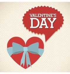 Happy valentines day design vector