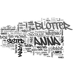A case for blotter art text word cloud concept vector