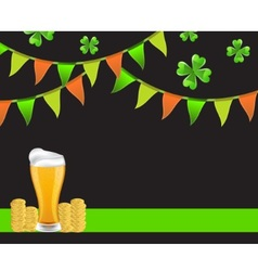 Background St Patricks Day vector image vector image