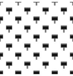 Blank billboard pattern simple style vector
