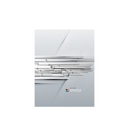 3d paper lines modern design vector image vector image