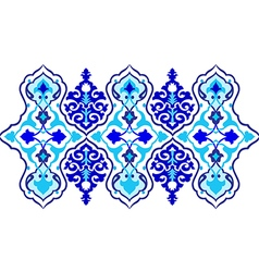 Thirteen series designed from the ottoman pattern vector