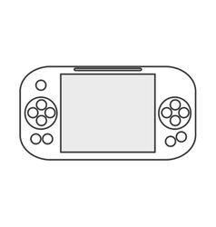 Mobile gaming device vector