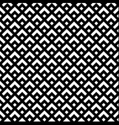 black and white retro style pattern seamless vector image vector image