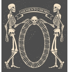 Memento mori vector image
