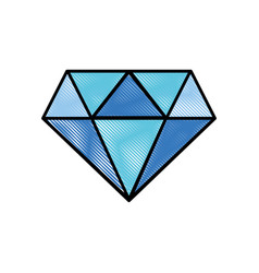 Grated beauty luxury diamond gen accessory vector