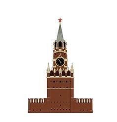 Kremlin tower vector
