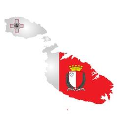 Malta flag vector