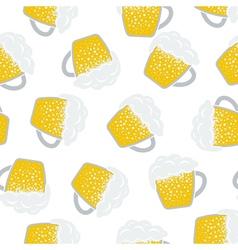 Seamless Oktoberfest Pattern vector image