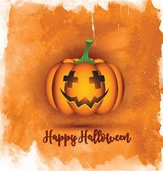Watercolor halloween background 0509 vector