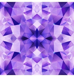 Violet crystal abstract seamless pattern vector